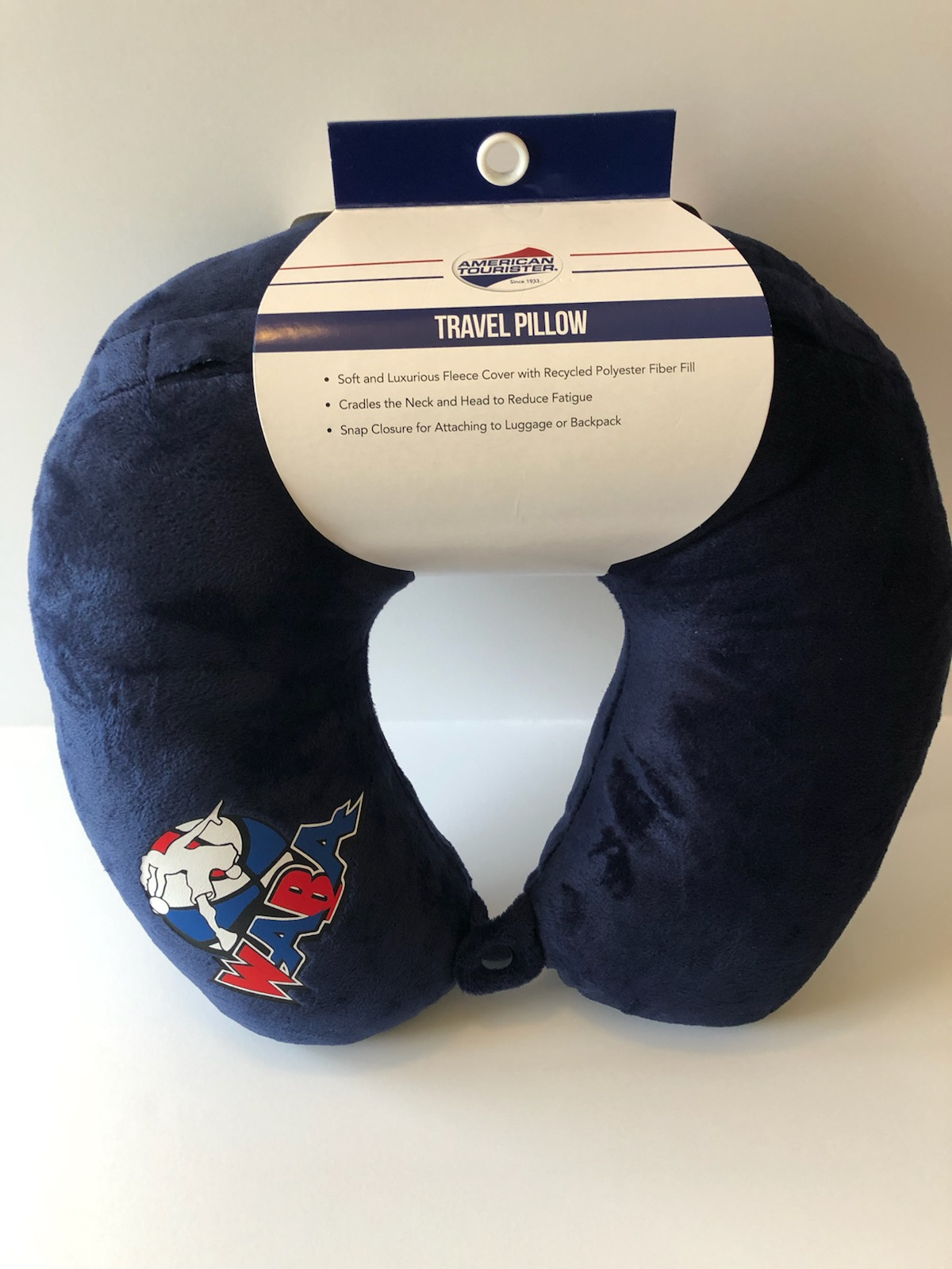 WABA Travel Pillow – Navy Blue
