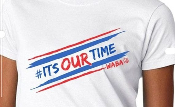 SIGNATURE 'ITS OUR TIME' WHITE T'